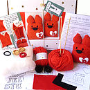 Valentine Love Cats Craft Kit