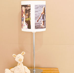 Personalised Photo Table Lampshade