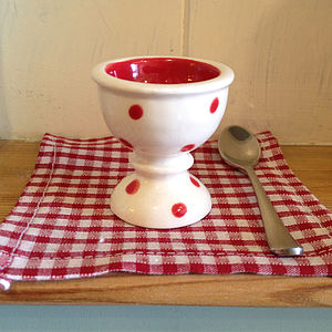 Quail's Egg Cup Set - egg cups & cosies