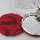 Red Stag mirror