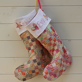 Personalised Childs Christmas Stocking