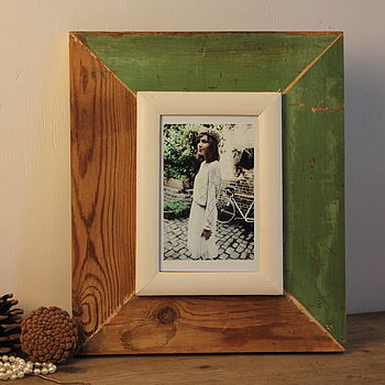 "Rustic 6""x4"" Photo Frame 11"