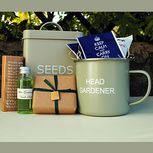 Head Gardener Gift Set - men's grooming & toiletries