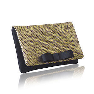 Dazzle Snake Coin Purse - evening bags