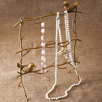 Birds On Branches Jewellery Holder