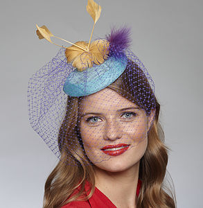 Feather And Veil Fascinator Hat Kit