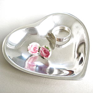 Heart Jewellery Dish - bedroom