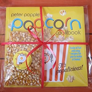 Peter Popple's Popcorn Christmas Cookbook Set