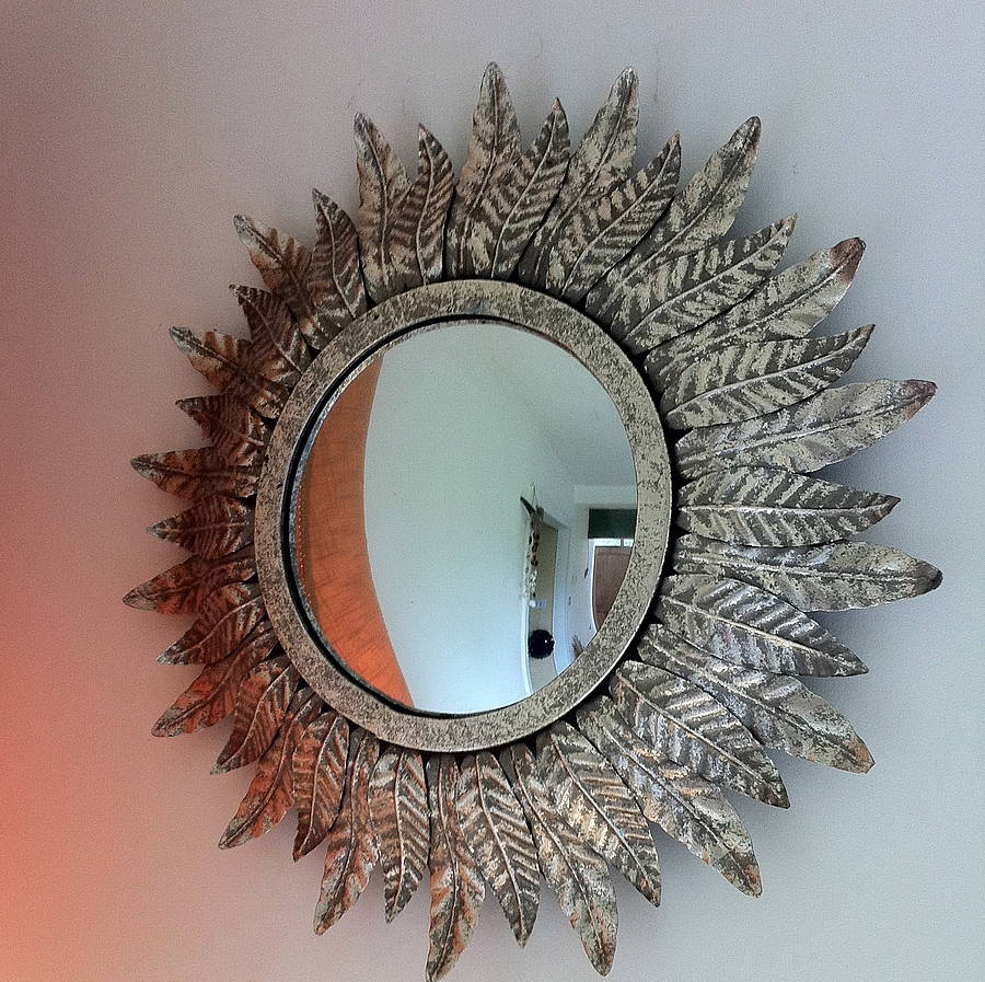 Silver Leaf Mirror By The Forest Amp Co Notonthehighstreet Com