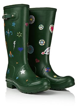 Funky Glitter Stickers For Wellies