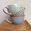 Patterned Porcelain Milk Jug