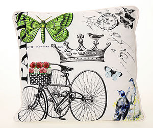 Paris Print Cover - cushions
