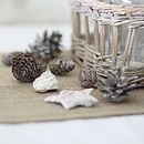 Box Of Fir Cones Table Confetti