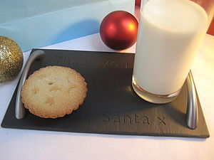 Santa's Christmas Eve Tray - view all decorations