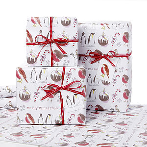 Christmas Gift Wrap - luxury wrap