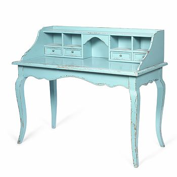 Distressed French Style Desk