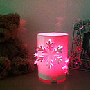 Snowflake Colour Changing LED Battery Operated Light