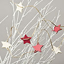 Farrow And Ball Hand Painted Star Garland