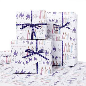 Three Kings Christmas Gift Wrap - cards & wrap