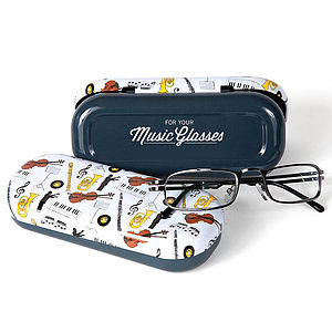 Music Glasses Case - glasses cases