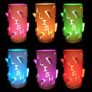 Colour Changing Personalised Butterfly LED Candle Light