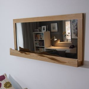 'Mountain View' Oak Mirror - kitchen