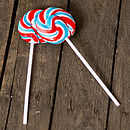 British Swirly Lollipops
