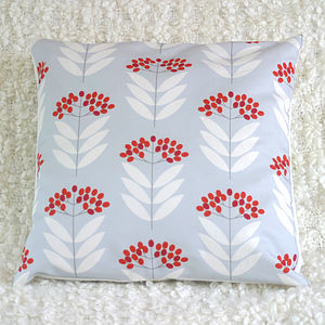 Elderberry Cushion Cover - patterned cushions