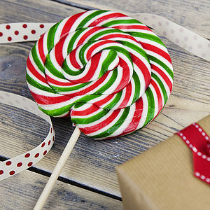 Giant Swirly Red And Green Lollipops - shop by price