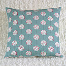 Tree Pattern Print Cushion Cover