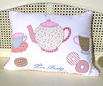 'Tea Party' Cushion