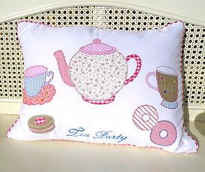 'Tea Party' Cushion