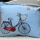 'Salut' Bike Cushion