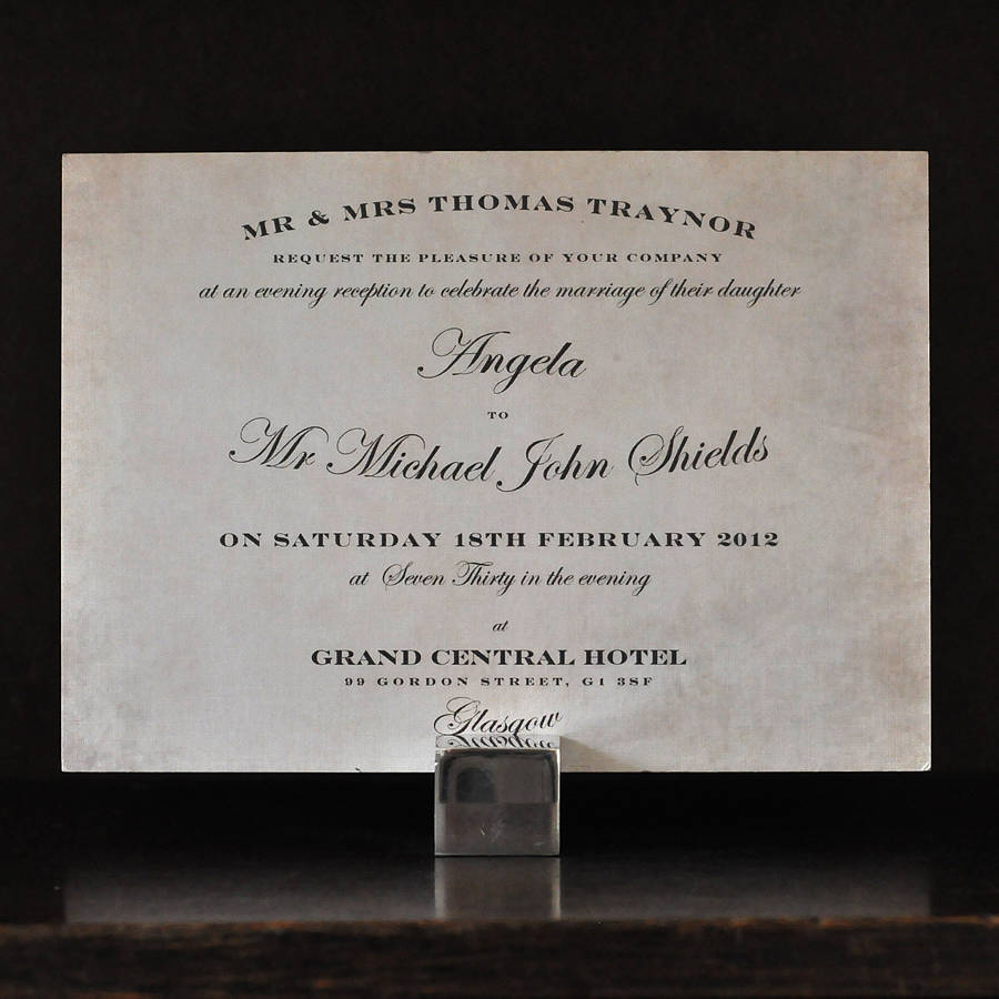 Wedding Invitations Vintage with adorable invitation template