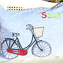 'Salut' Bike Cushion