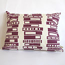 Retro Block Cushion