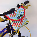 Star Print Child's Scooter Or Bike Bag Bike