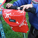 Pirate Print Child's Scooter Or Bike Bag