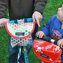 Child's scooter or bike bag in pirates garden