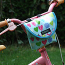 Apples Print Child's Scooter Or Bike Bag Bike