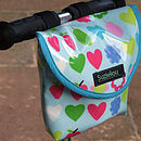 Apples Print Child's Scooter Or Bike Bag Front