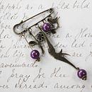 Vintage Style Kilt Pin Brooch