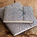 Extra Large Handcrafted Daisy Print Photo Album