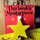 This Week's Masterpiece Star Wooden Peg