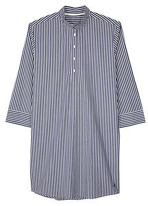 Egyptian Cotton Mens Nightshirt - nightwear
