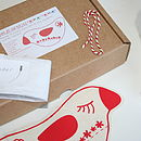 Lavender Love Bird Sewing Craft Kit