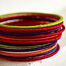 Handcrafted Cotton Bangle Set