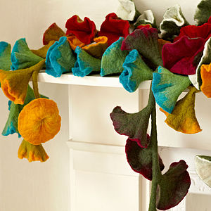 Fair Trade Felt Garlands - baby's room