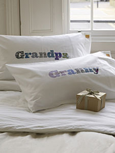 Grandpa And Granny Pillowcase Set - bedroom