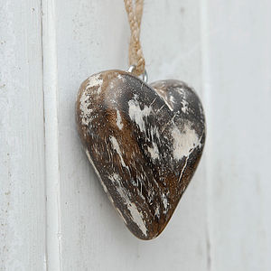 Fair Trade Wooden Heart
